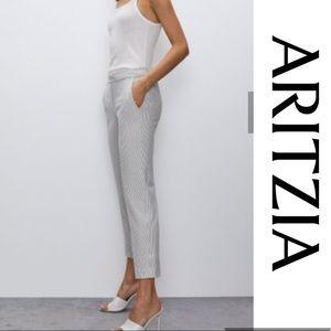 Babaton Cohen Pant Grey Size 0 Xsmall crop Aritzia